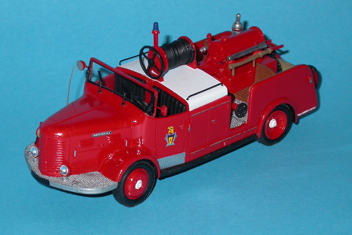 TRASCO: Hotchkiss 1er Secours (001) in 1:43 scale
